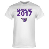 White T Shirt-Class of Personalized Year, Personalized Year
