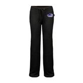 ENZA Ladies Black Fleece Pant-Official Logo