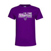 Youth Purple T Shirt-2017 Womens Tennis