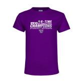 Youth Purple T Shirt-2017 Womens Tennis