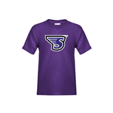 Youth Purple T Shirt-S