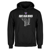 Black Fleece Hoodie-Basketball Net Design