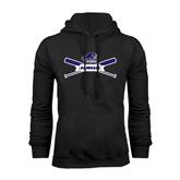 Black Fleece Hood-Baseball Bats