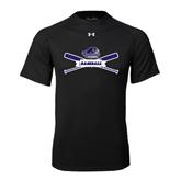 Under Armour Black Tech Tee-Baseball Bats