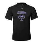 Under Armour Black Tech Tee-Basketball Stacked