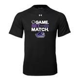Under Armour Black Tech Tee-Tennis Game Set Match