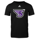 Adidas Black Logo T Shirt-Primary Mark