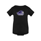 Black Infant Onesie-Official Logo