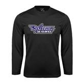 Syntrel Performance Black Longsleeve Shirt-Stonehill Skyhawks