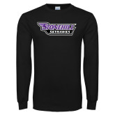 Black Long Sleeve T Shirt-Stonehill Skyhawks