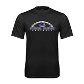 Syntrel Performance Black Tee-Arched Football Design