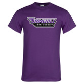 Purple T Shirt-Cross Country