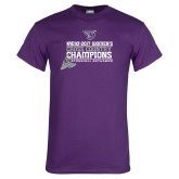 Purple T Shirt-2017 Womens Cross Country Champions