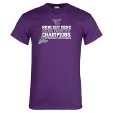 Purple T Shirt-2017 Mens Cross Country Champions