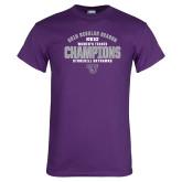 Purple T Shirt-Womens Tennis Regular Season Champions