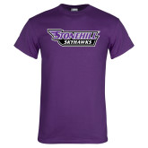 Purple T Shirt-Stonehill Skyhawks