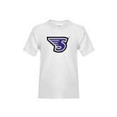 Youth White T Shirt-S