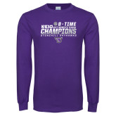 Purple Long Sleeve T Shirt-2017 Womens Tennis