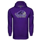 Under Armour Purple Performance Sweats Team Hood-Field Hockey