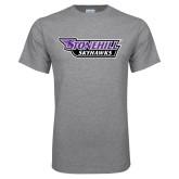 Grey T Shirt-Stonehill Skyhawks
