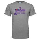 Grey T Shirt-2017 Mens Cross Country Champions