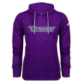 Adidas Climawarm Purple Team Issue Hoodie-Skyhawks