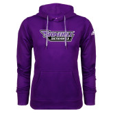 Adidas Climawarm Purple Team Issue Hoodie-Stonehill Skyhawks