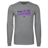 Grey Long Sleeve T Shirt-2017 Womens Tennis