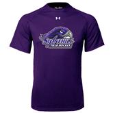 Under Armour Purple Tech Tee-Field Hockey