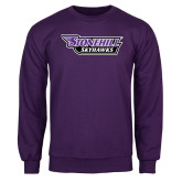 Purple Fleece Crew-Stonehill Skyhawks