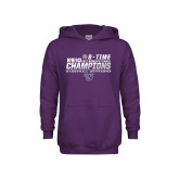 Youth Purple Fleece Hoodie-2017 Womens Tennis