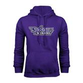 Purple Fleece Hood-Stonehill Skyhawks
