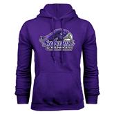 Purple Fleece Hood-Field Hockey