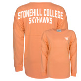 Coral Game Day Jersey Tee-Primary Mark