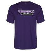Performance Purple Tee-Stonehill Skyhawks