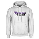 White Fleece Hoodie-Stonehill Skyhawks