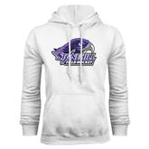 White Fleece Hood-Field Hockey