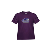 Toddler Purple T Shirt-Official Logo