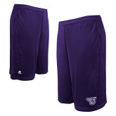 Russell Performance Purple 10 Inch Short w/Pockets-Primary Mark