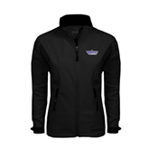 Ladies Black Softshell Jacket-Stonehill Skyhawks