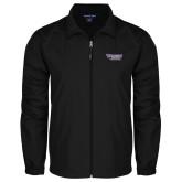 Full Zip Black Wind Jacket-Stonehill Skyhawks