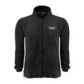 Fleece Full Zip Black Jacket-Stonehill Skyhawks