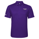 Adidas Climalite Purple Game Time Polo-Stonehill Skyhawks