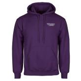 Purple Fleece Hoodie-Stonehill Skyhawks