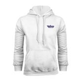 White Fleece Hood-Stonehill Skyhawks