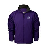 Purple Survivor Jacket-Official Logo