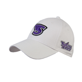 White Heavyweight Twill Pro Style Hat-S