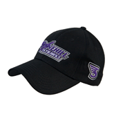 Black Heavyweight Twill Pro Style Hat-Stonehill Skyhawks