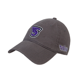 Charcoal Twill Unstructured Low Profile Hat-S