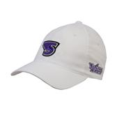 White OttoFlex Unstructured Low Profile Hat-S